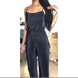 Small Forever21 Sleek Black Jumpsuit